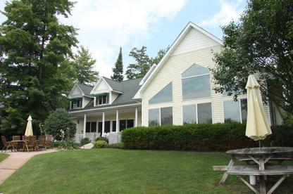 Michigan Vacation Rental - Northern Michigan - Large House - Lakefront Beach